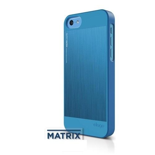 Elago Apple iPhone 5C S5 Outfit Series-Mavi (Ekran Koruyucu Hediye)