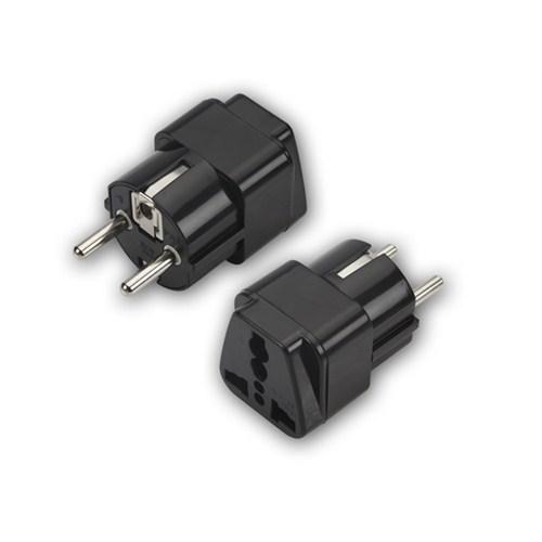Ttaf Universal Priz Adaptörü Topraklı ve Sigortalı 16A 250V 90020