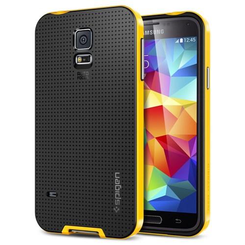 Spigen Sgp Samsung Galaxy S5 Kılıf Neo Hybrid - Reventon Yellow