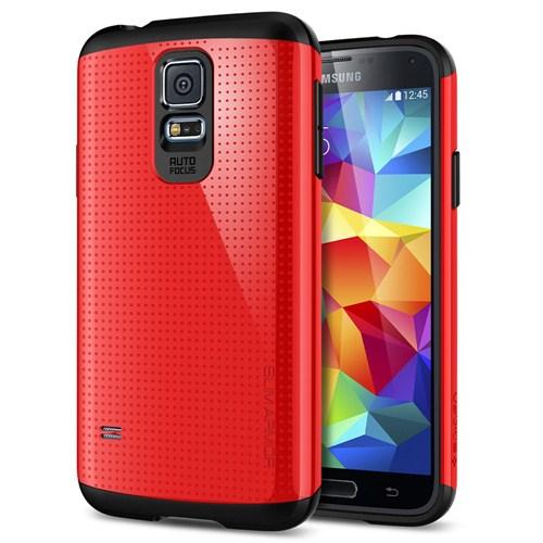 Spigen Samsung Galaxy S5 Kılıf Slim Armor Crimson Red