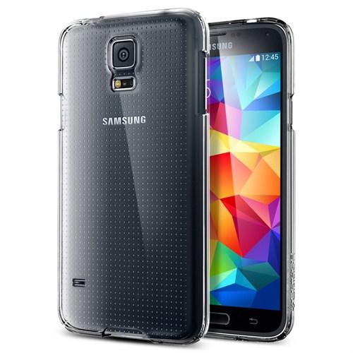 Spigen Sgp Samsung Galaxy S5 Ultra Fit Kılıf - Crystal Shell