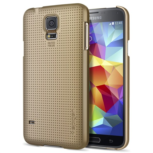 Spıgen Sgp Samsung Galaxy S5 Case Ultra Fit Copper Gold