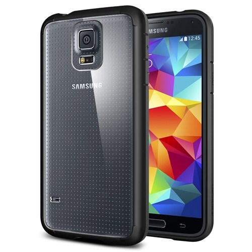 Spigen Sgp Samsung Galaxy S5 Ultra Hybrid Kılıf - Black