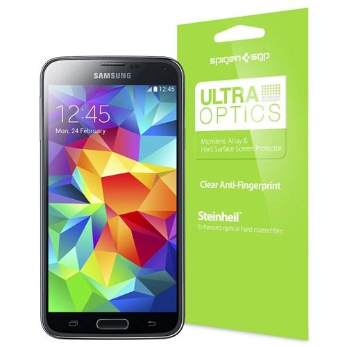 Spigen Samsung Galaxy S5 Steinheil Lcd Film Ultra Optics Ekran Koruyucu