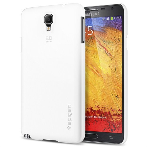 Spigen Sgp Samsung Galaxy Note 3 Neo Ultra Fit Infinity White Neo