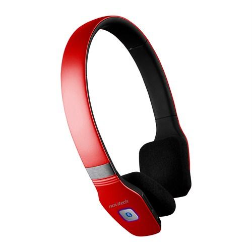 Navitech BHK 2020K Yüksek Performanslı Bluetooth Kulaklık Kırmızı
