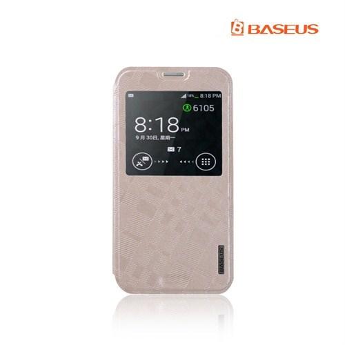 *Baseus Samsung Galaxy S5 Krem Kılıf