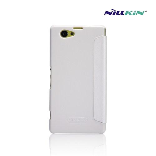 Case 4U Nillkin Sony Z1 Compact Fresh Series Beyaz Kılıf