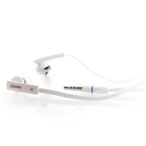 Dark Evo P60 Mikrofonlu ve Slim Kablolu Beyaz Kulakiçi Kulaklık (DK-AC-EVOP6EPW)