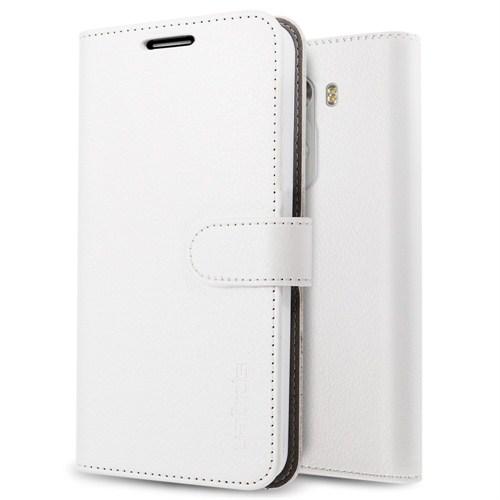 Spigen Sgp LG G3 Wallet S Kılıf Beyaz - SGP10872