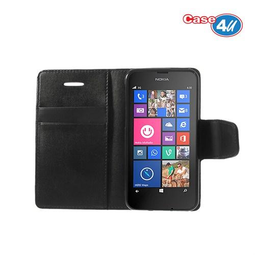 Case 4U Nokia Lumia 630 Siyah Kılıf*