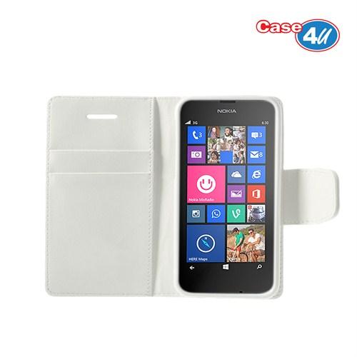 Case 4U Nokia Lumia 630 Beyaz Kılıf