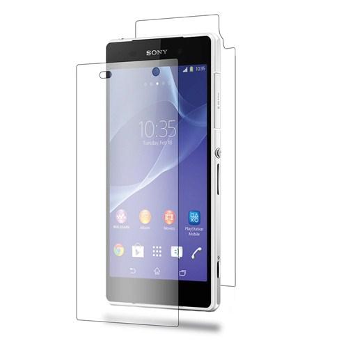 Microsonic Ultra Şeffaf Ön Ekran ve Arka Koruyucu Full Body - Sony Xperia Z2 - SG106-XPR-Z2-FB