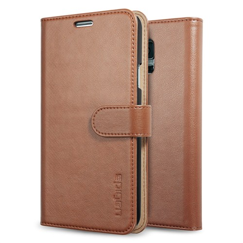Spigen Samsung Galaxy S5 Wallet S Kılıf - Brown