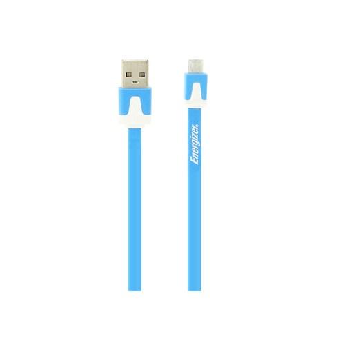 Energizer LCAEHUFCMCBL2 Usb Mavi Micro Usb Data + Şarj Kablosu- 13846