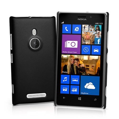 Microsonic Nokia Lumia 925 Rubber Kılıf Siyah - CS110-LUMIA-925-SYH
