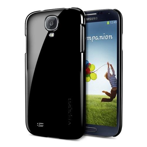Spigen Sgp Samsung Galaxy S4 i9500 Kılıf Ultra Thin Air Soul Black