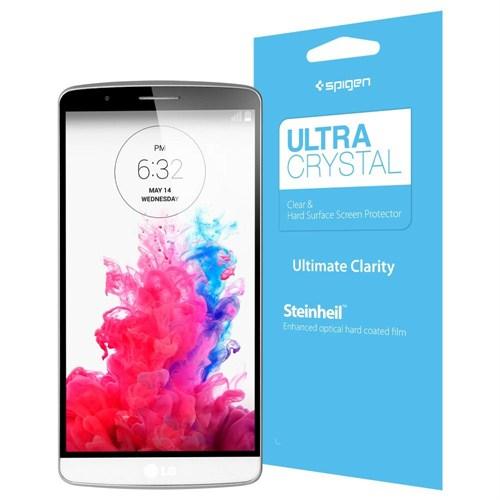 Spigen Sgp LG G3 Screen Protector Steinheil Ultra Crystal Koruyucu Film