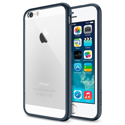 """Spigen Sgp iPhone 6 Kılıf (4.7"""") Ultra Hybrid Metal Slate (PET) - SGP10951"""