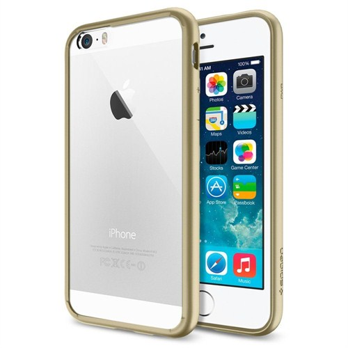 Spigen Apple iPhone 6S/6 Kılıf Ultra Hybrid Champagne Gold (PET) - 10949