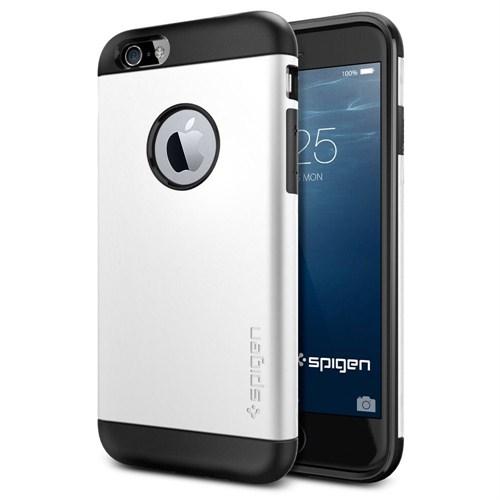 Spigen Apple iPhone 6S/6 Kılıf Slim Armor Serisi Shimmery White - 10957