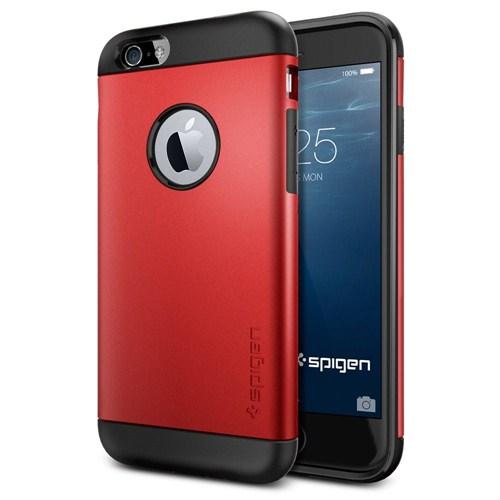 Spigen Apple iPhone 6S/6 Kılıf Slim Armor Serisi Electric Red - 10956