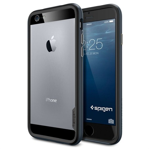 Spigen Apple iPhone 6S/6 Kılıf Neo Hybrid EX Serisi Metal Slate - 11023