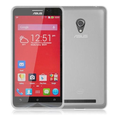 Microsonic Asus Zenfone 5 Glossy Soft Kılıf Beyaz - CS130-GLSSY-ASS-ZENPHONE5-BYZ