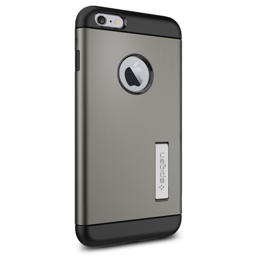 "Spigen Sgp iPhone 6 Plus Kılıf (5.5"") Slim Armor Series Gunmetal - SGP10905"