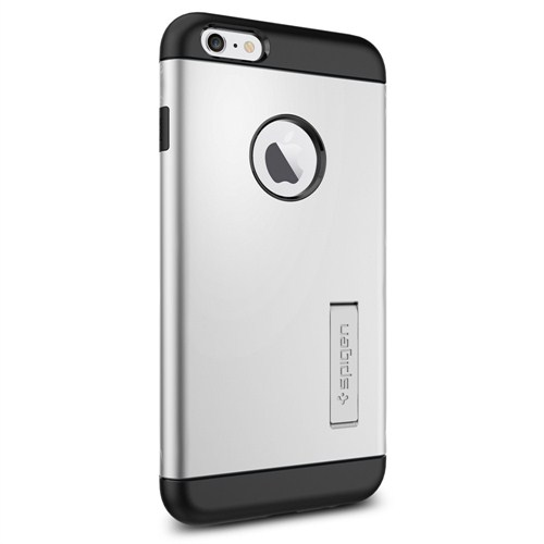 "Spigen Sgp iPhone 6 Plus Kılıf (4.7"") (5.5"") Slim Armor Series Satin Silver - SGP10904"