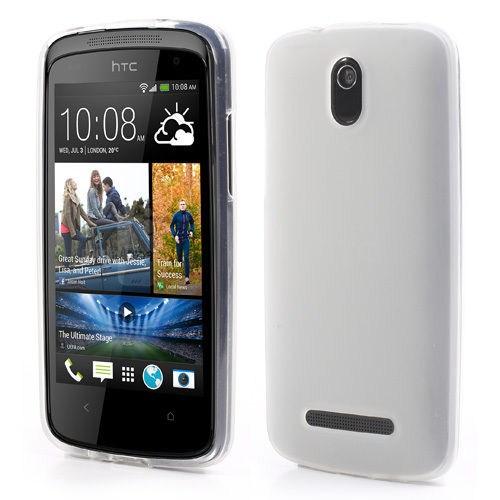 Microsonic HTC Desire 500 Glossy Soft Kılıf Beyaz - CS130-GLSSY-DSR-500-BYZ