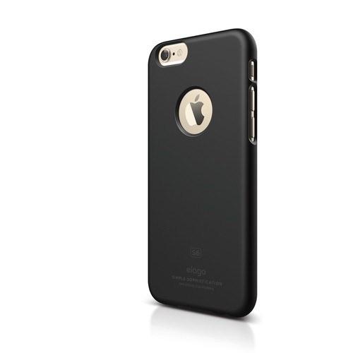 Elago Apple iPhone 6 S6 Slim Fit 1 Series Kılıf - Mat Siyah(Ekran Koruyucu Hediye)