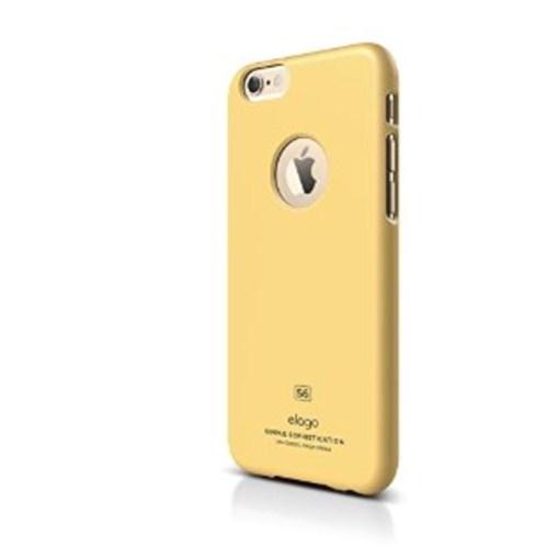 Elago Apple iPhone 6 S6 Slim Fit 1 Series Kılıf - Sarı(Ekran Koruyucu Hediye)