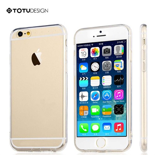 Totu Design Apple iPhone 6 Soft Şeffaf Kılıf
