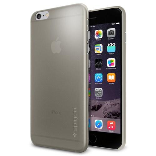 "Spigen SGP iPhone 6 Plus Kılıf (5.5"") Air Skin (0.3mm) Gray - SGP11158"