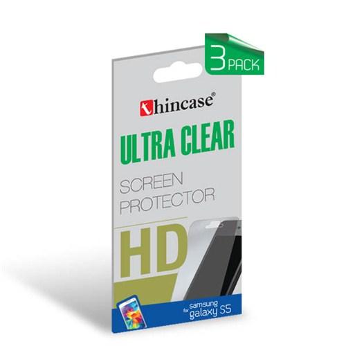 Thincase Ultra Clear Galaxy S5 Ekran Koruma 3 pack (3 adet)