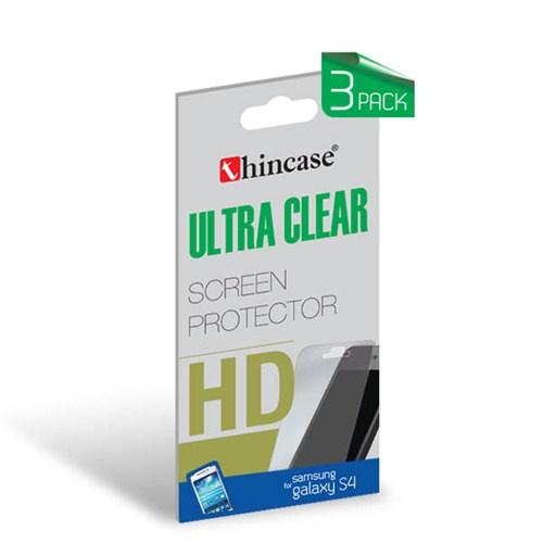Thincase Ultra Clear Galaxy S4 Ekran Koruma 3pack (3 adet) - CLSAMS4