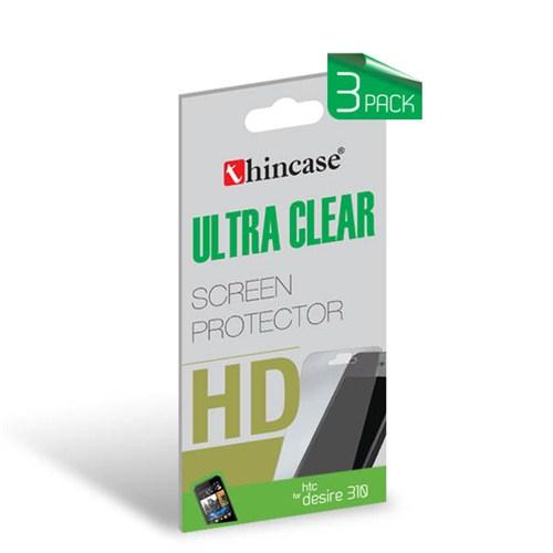 Thincase Ultra Clear HTC DESIRE 310 Ekran Koruma 3pack (3 adet) - CLHTC310