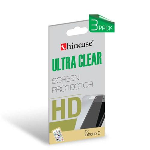 Thincase Ultra Clear iPhone 6 Ekran Koruma 3pack (3 adet) - CLIP6