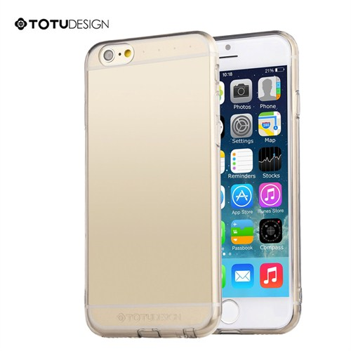 Totu Design Apple iPhone 6 Plus Soft Şeffaf Kılıf