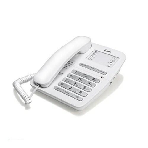 Ttec Tk2800 Masa Üstü Telefon Beyaz-Gümüş - Tk2800(6370)
