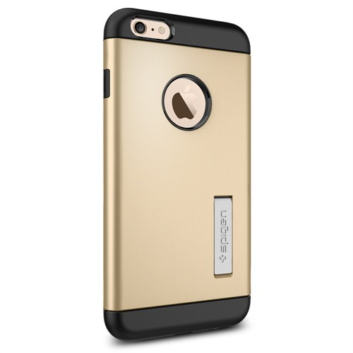 "Spigen Sgp iPhone 6 Plus Kılıf (5.5"") Case Slim Armor Series Champagne Gold - SGP10907"
