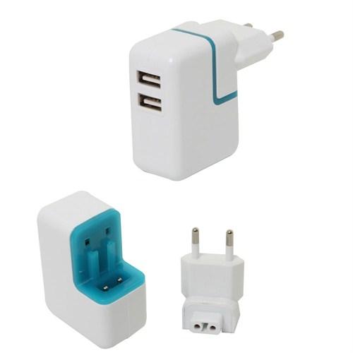S-Link Ip-825 5V/1A iPhone/iPod 2*Usb Şarj