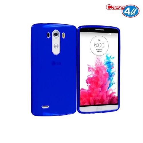 Case 4U LG G3 Soft Silikon Kılıf Mavi