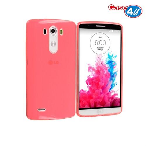 Case 4U LG G3 Soft Silikon Kılıf Pembe