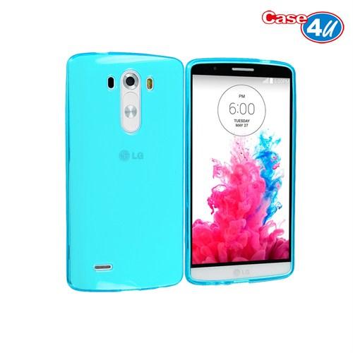 Case 4U LG G3 Soft Silikon Kılıf Yeşil