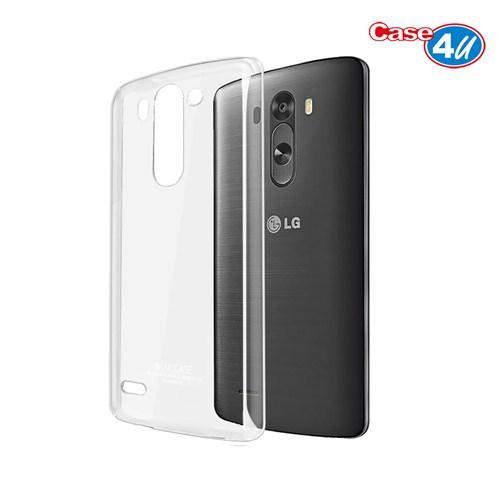 Case 4U LG G3 Şeffaf Arka Kapak