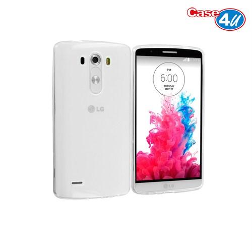 Case 4U LG G3 Soft Silikon Kılıf Şeffaf