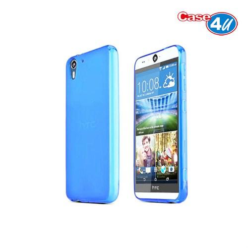 Case 4U HTC Desire Eye Soft Silikon Kılıf Mavi