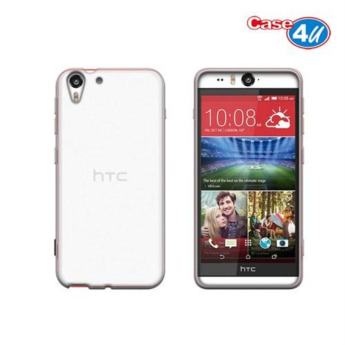 Case 4U HTC Desire Eye Soft Silikon Kılıf Şeffaf